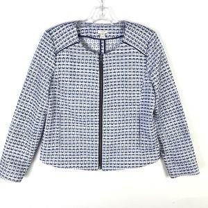 J.Crew Factory Jacquard Dressy Jacket #702